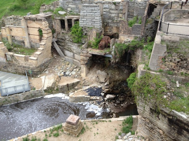 Mill Ruins Park downtown Minneapolis