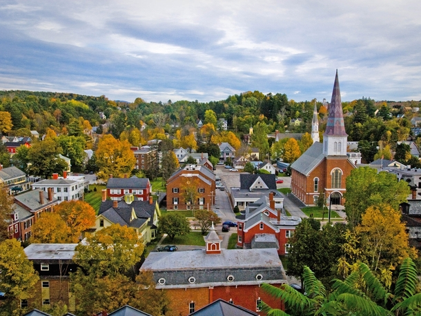 Montpelier Vermont Smallest State Capital In The United