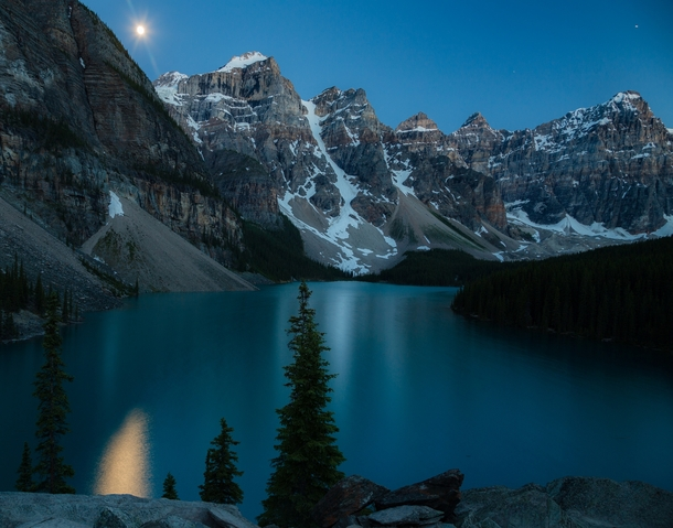 Moonrise over Moraine  thedustyrover