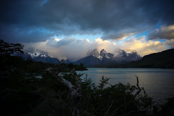 Morning coffee views dont get much better than in Patagonia