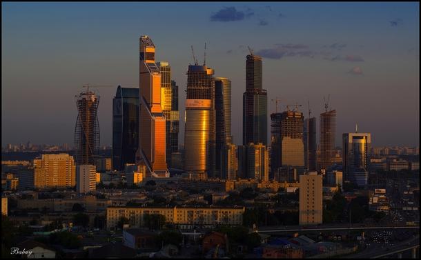 Keys Made Near Me >> Moscow Dusk Skyline - - Photorator