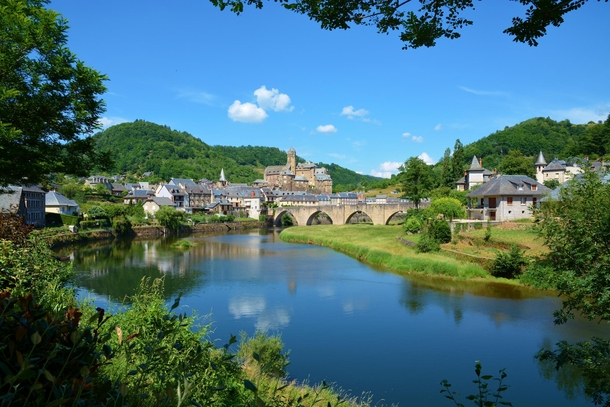 Most Picturesque Village - awesome views of Aveyron Countryside France
