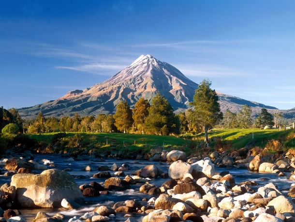 Mount Taranaki New Zealand