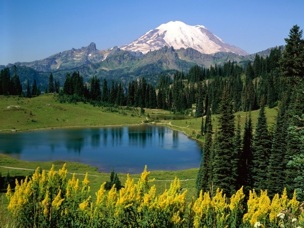 Mountain in Washington State - Mountain In Washington State - Photorator