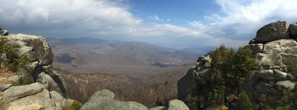 Near the Summit of Old Rag Mountain