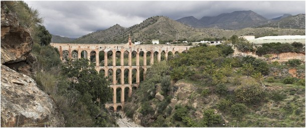 Nerja Aqueduct in Spain