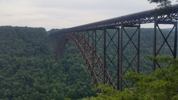 New River Gorge Bridge the worlds third longest single span arch bridge