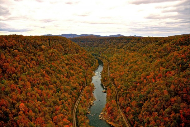 New river gorge west virginia fall foliage photorator for West fall