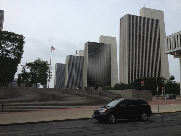 New York State Agency Buildings Empire State Plaza in Albany NY