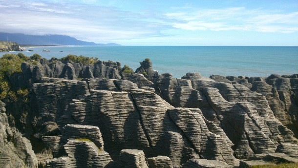 New Zealand Pancake Rocks Bad Camera
