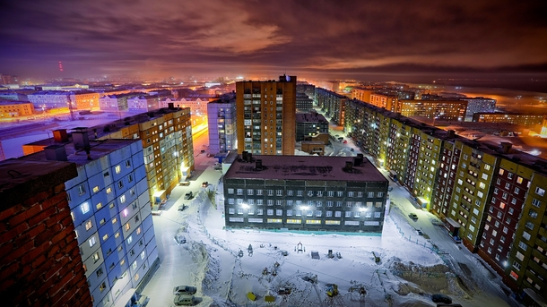 Norilsk Russia Beautiful urban hell