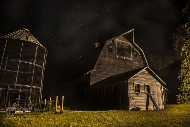 Image Result For Old Farmhouse At Night