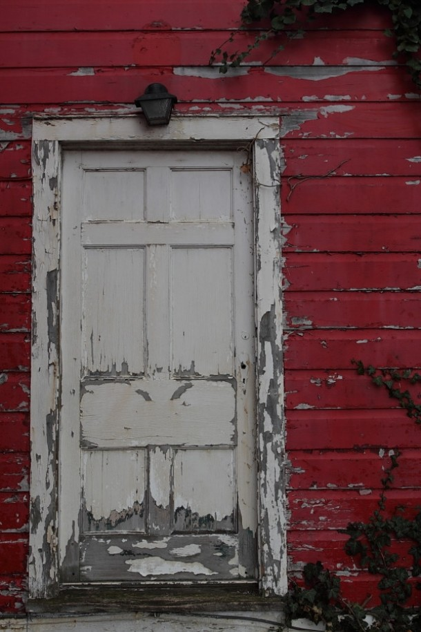 Old Mill House door - Glen Falls Park Williamsville NY