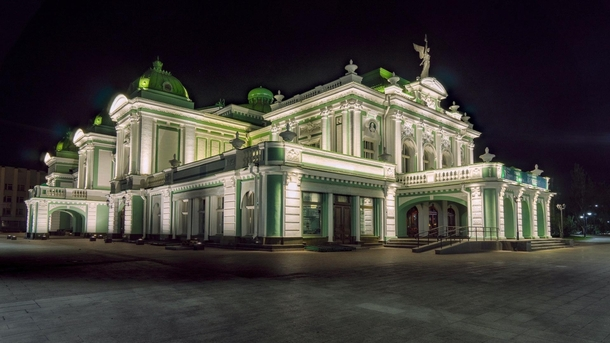 Omsk Drama Theater Omsk Russia