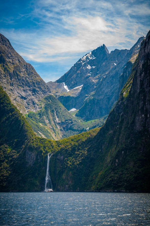 One of the most breathtaking views Milford Sound New Zealand x