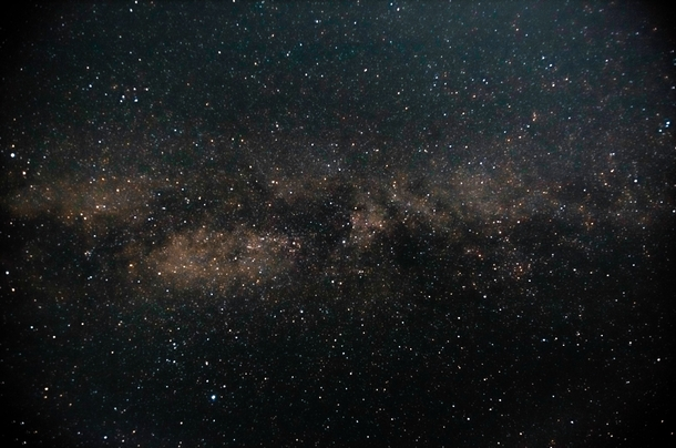 Our Milky Way galaxy First attempt at astrophotography