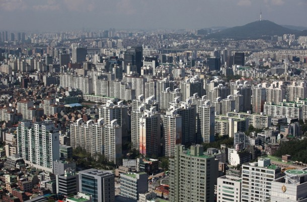 Part of Gangnam area in Seoul Gangnam is the most upmarket neighborhood in the South Korean capital it is known as Seouls Beverly Hills