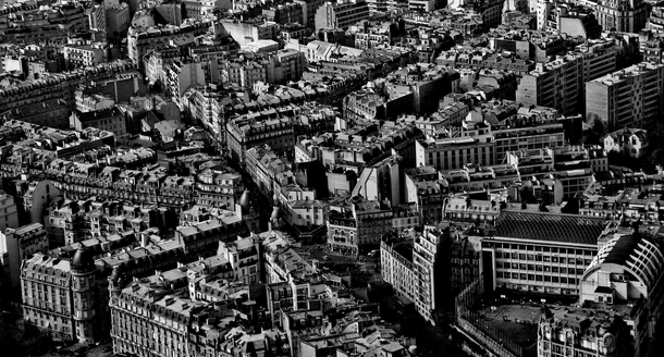 Part of Paris by Air  photo by Thomas Patrice