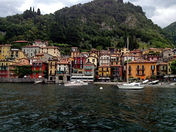 Passed this village while boating on Lake Como Italy