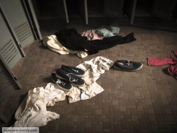 Patients Clothing And Shoes Still Lay Scattered Eerily