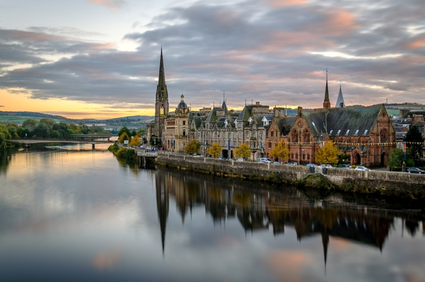 Perth Scotland by Michael Mullan - Photorator After The Sunset
