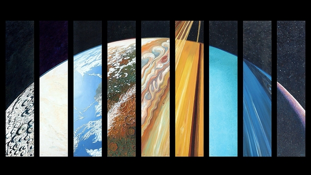 Planetary Suite by artist Steve Gildea  Could someone make IRL version of this