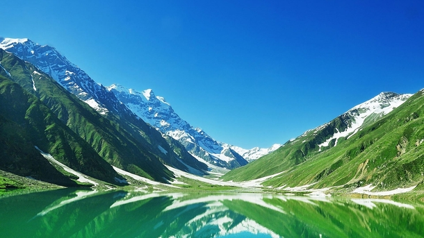 Queen of Lakes Saif ul Malook Located In Kaghan Valley of Pakistan