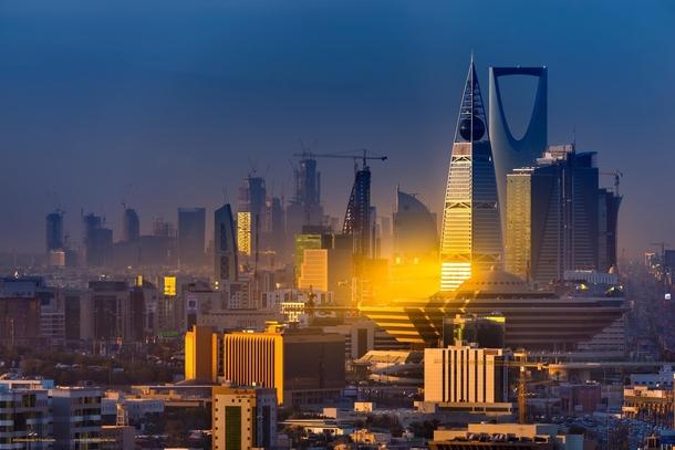 riyadh skyline capital of saudi arabia photorator. Black Bedroom Furniture Sets. Home Design Ideas
