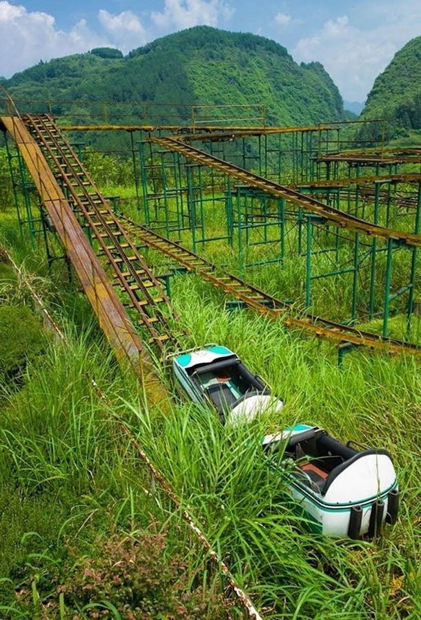 Roller Coaster China x