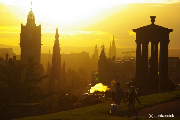 Romantic edinburgh