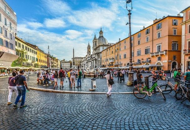 Rome Piazza Navona In ancient Rome this was the Domitian stadium