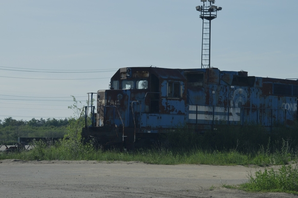 Rusting workhorse that wont be riding the rails anymore
