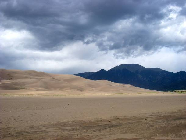 Sands Meet the Mountains at Great Sand Dunes NP Colorado