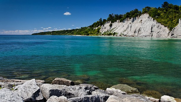 Scarborough Bluffs Ontario Canada