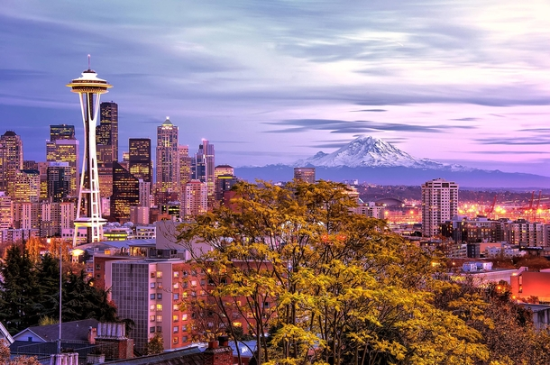 Scenic Seattle X-post from rwoahdude