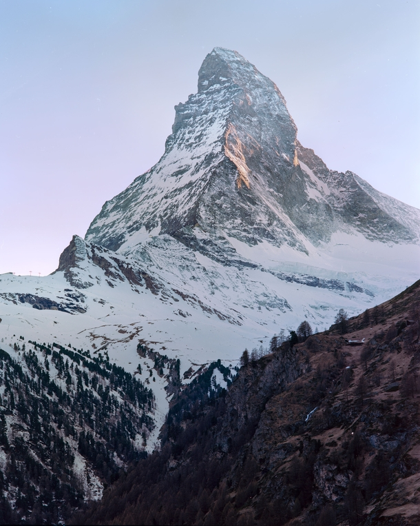 Seeing the Matterhorn is a special occasion even living in Switzerland Had the chance to bring a friend up to Zermatt for sunset