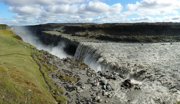 Selfoss Iceland taken with my phone This is the waterfall in the opening scene of Prometheus OC x
