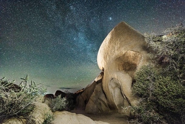 Skull Rock At Joshua Tree National Park California Photorator