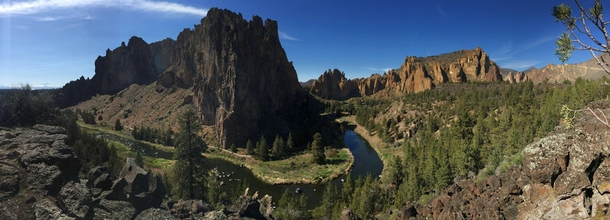 Smith Rock in Oregon OC by Coral no filter