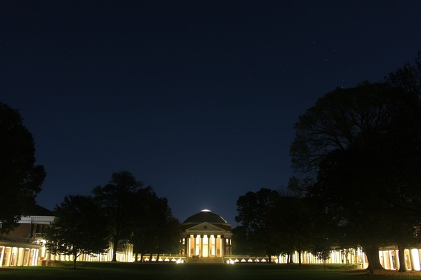 So were doing universities now Thomas Jeffersons lawn -- The University of Virginia