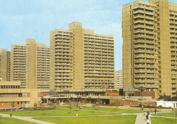 Socialist paradise in concrete Halle-Neustadt East Germany album in comments