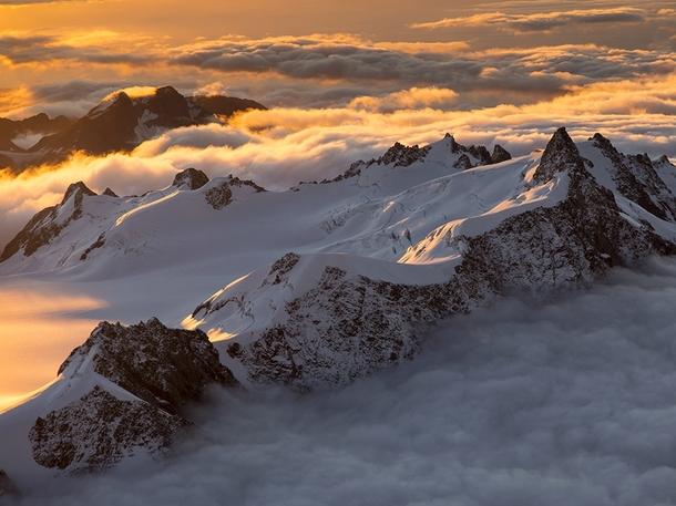 Southern Alps New Zealand Michael Melford