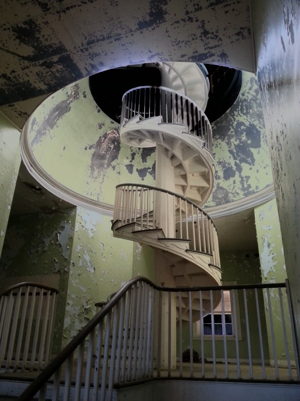 Spiral Staircase At Former Western State Lunatic Asylum