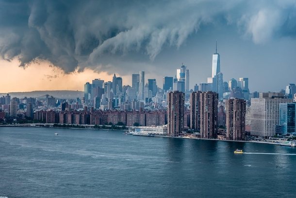 Storm looming over NYC