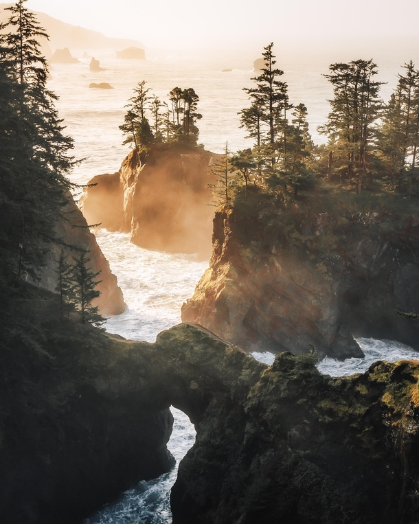 Sunrise along the Oregon Coast Brookings OR  IG kylefredrickson