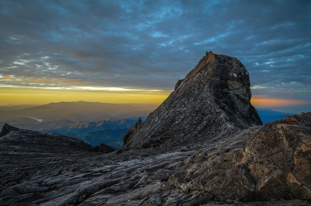 Sunrise at m on Mt Kinabalu Borneo