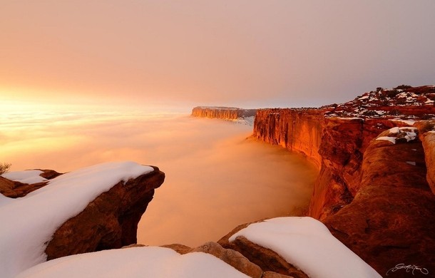 Sunrise in Canyonlands National Park  photo by Dustin LeFevre