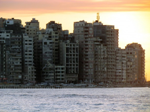 Sunset in Alexandria Egypt