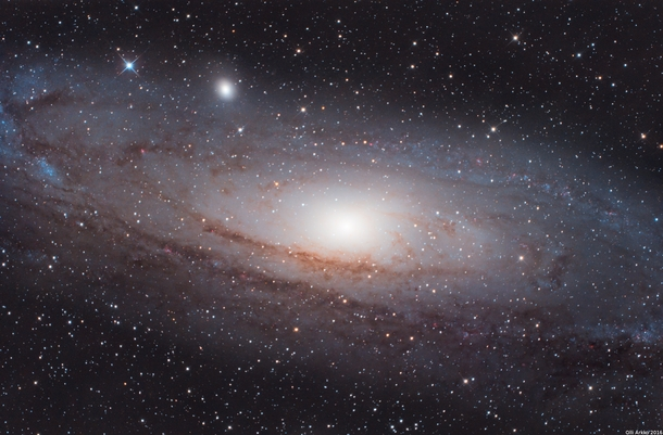the andromeda galaxy in the winter - photo #39