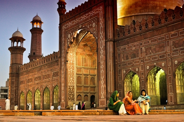The Badshahi Mosque Lahore
